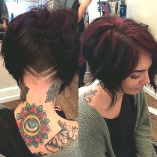 awesome cool hairstyles bob tiered pattern-sensational hairstyles bob tier decoration