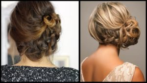 Photo of Top Side Updo Models