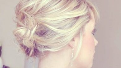 Photo of 12 short updos Ideas: Anyone can do