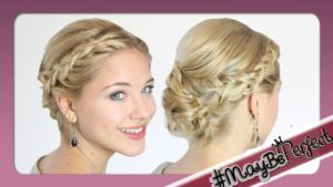 Photo of Fresh updos for medium-long hair picture