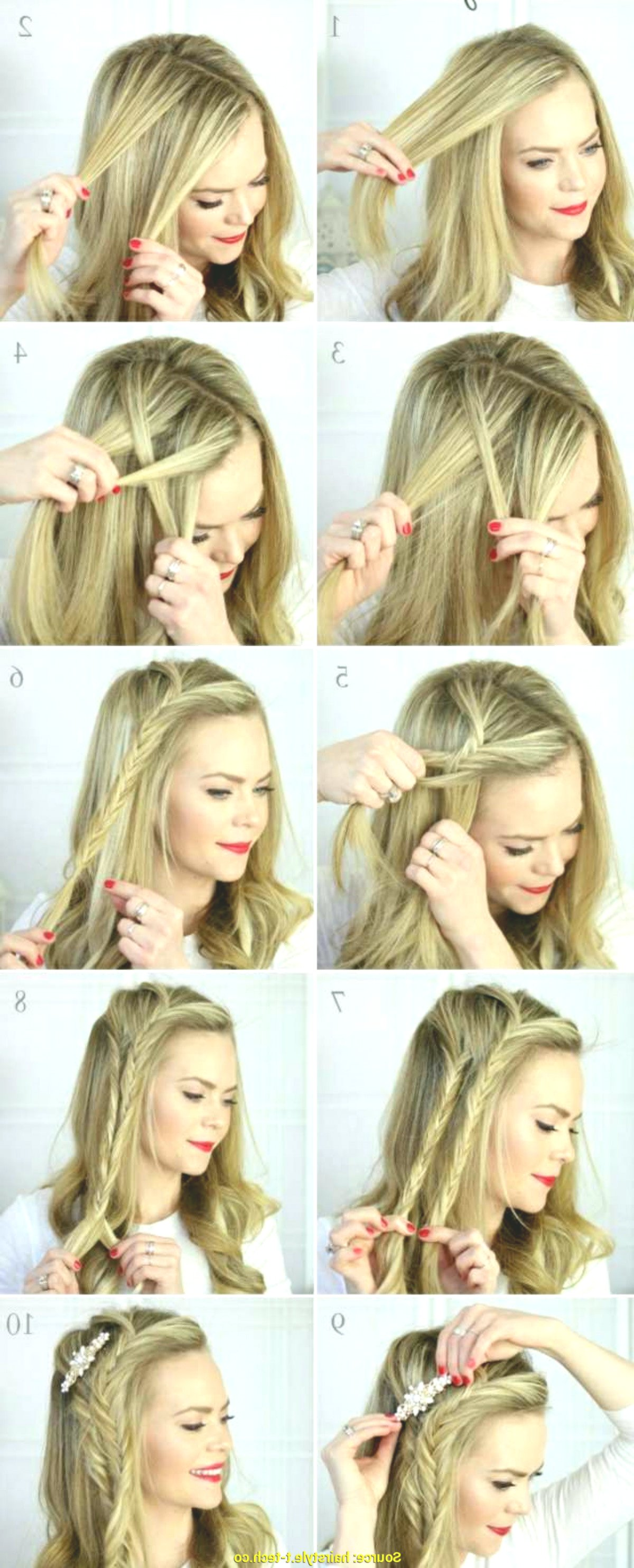 elegant hairstyling instructions plan-Awesome hairstyles instructions wall