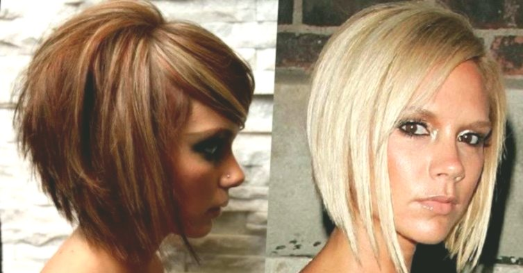 beautiful bob hairstyles behind shorter portrait-Charming Bob Hairstyles Rear Shorter Design