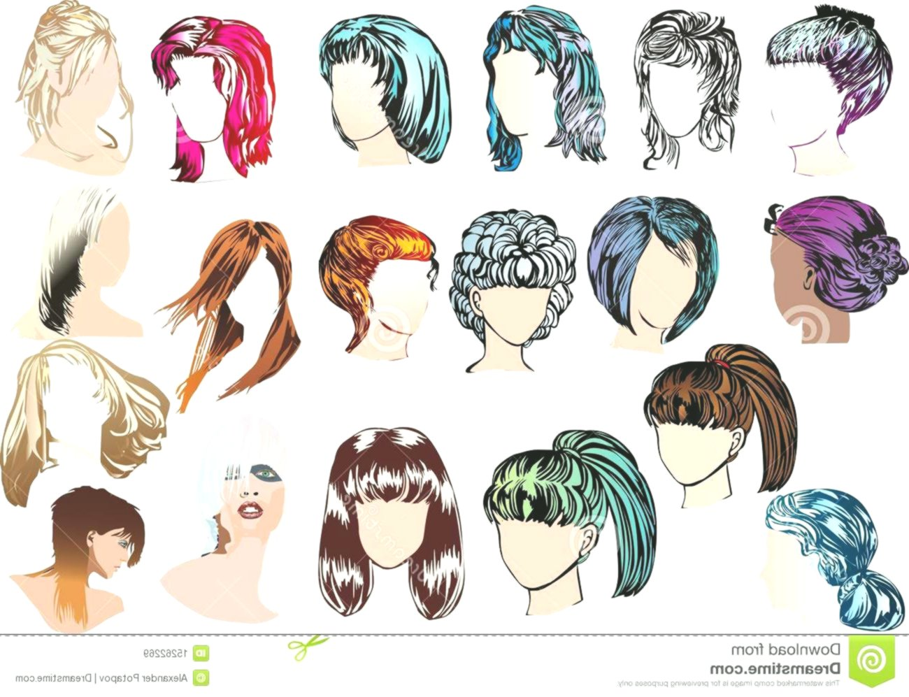 contemporary image of woman hairstyles portrait-elegant image of woman hairstyles gallery