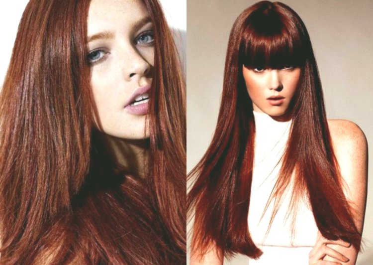 excellent hair red-brown photo picture-modern hair red-brown photography