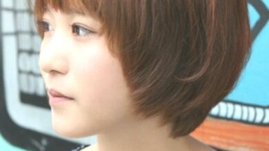 Photo of Asian hairstyles for girls: Short straight hair