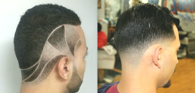 fresh hair shave pattern-Incredible hair shaving design