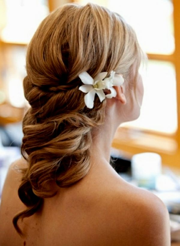 Beautiful wedding updo photo picture Cool wedding updo decor