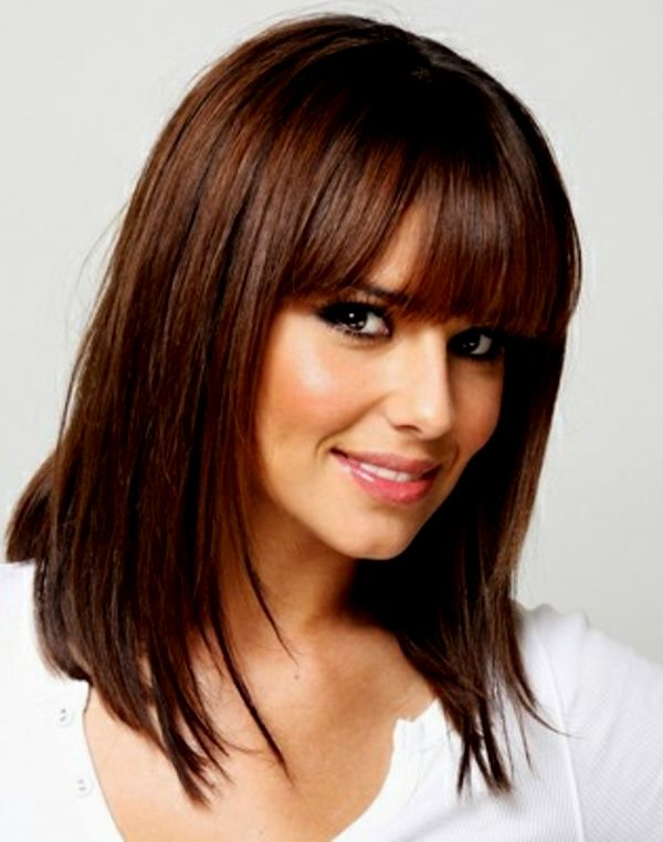 Beautiful bangs long hair background-Modern bangs Long Hair Ideas