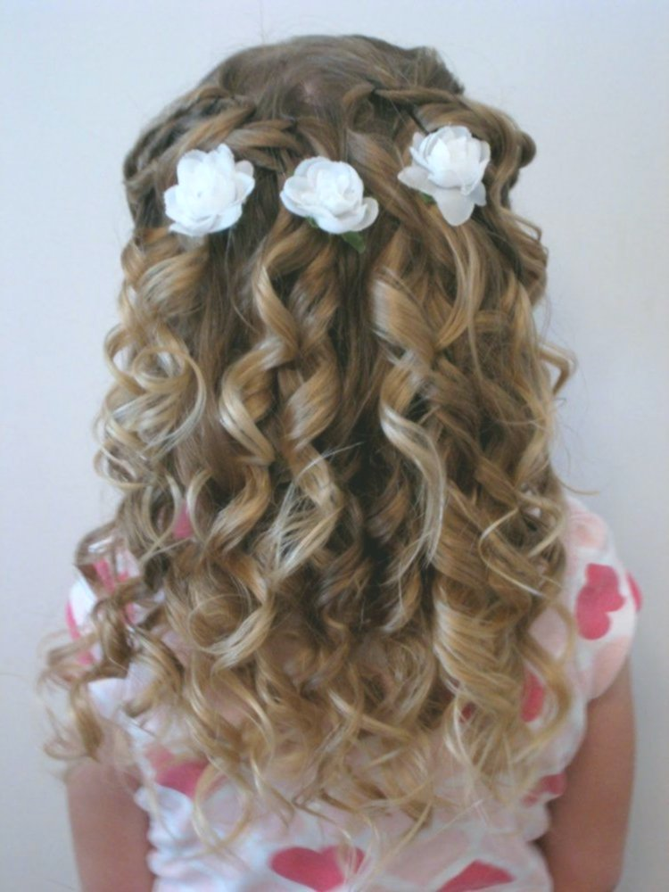 lovely braids curls decoration-Awesome braids curls layout
