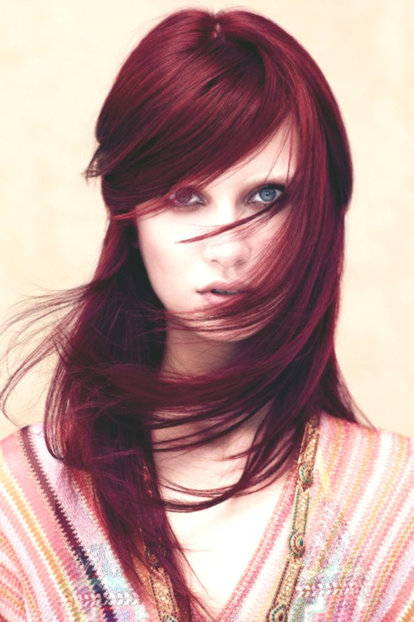 Incredible hair-colored reds-Unique hair colors reds decoration