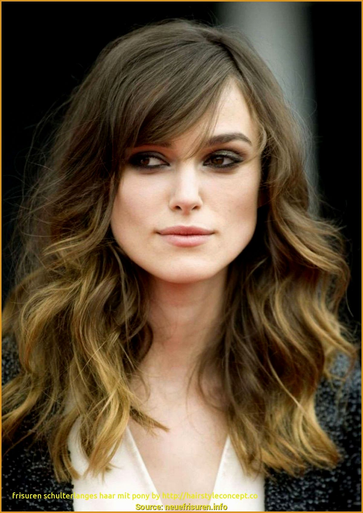 luxury shoulder-length hair with pony pattern-superb shoulder-length hair with pony inspiration