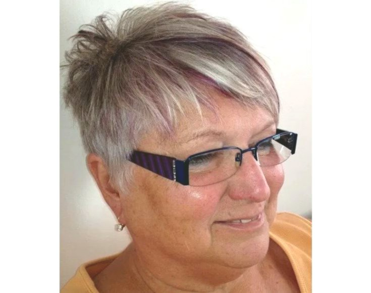 Inspirational Short Hairstyles for Gray Hair Design-Modern Short Hairstyles For Gray Hair Layout