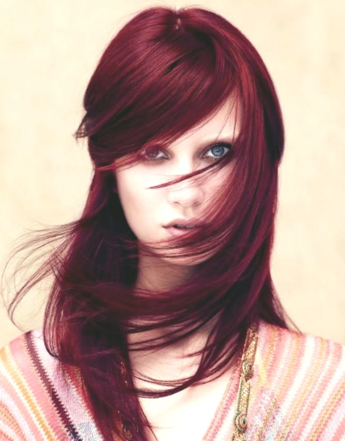 Lovely Hair Dyeing Red Pattern - Breathtaking Hair Dyeing Red Wall