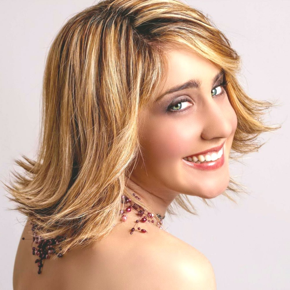 top hairstyles shoulder length stage photo-terrific hairstyles shoulder length tiered wall