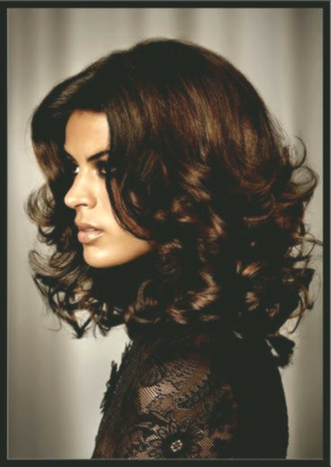 Excellent Hairstyle Waves Portrait - New Hairstyle Waves Photography