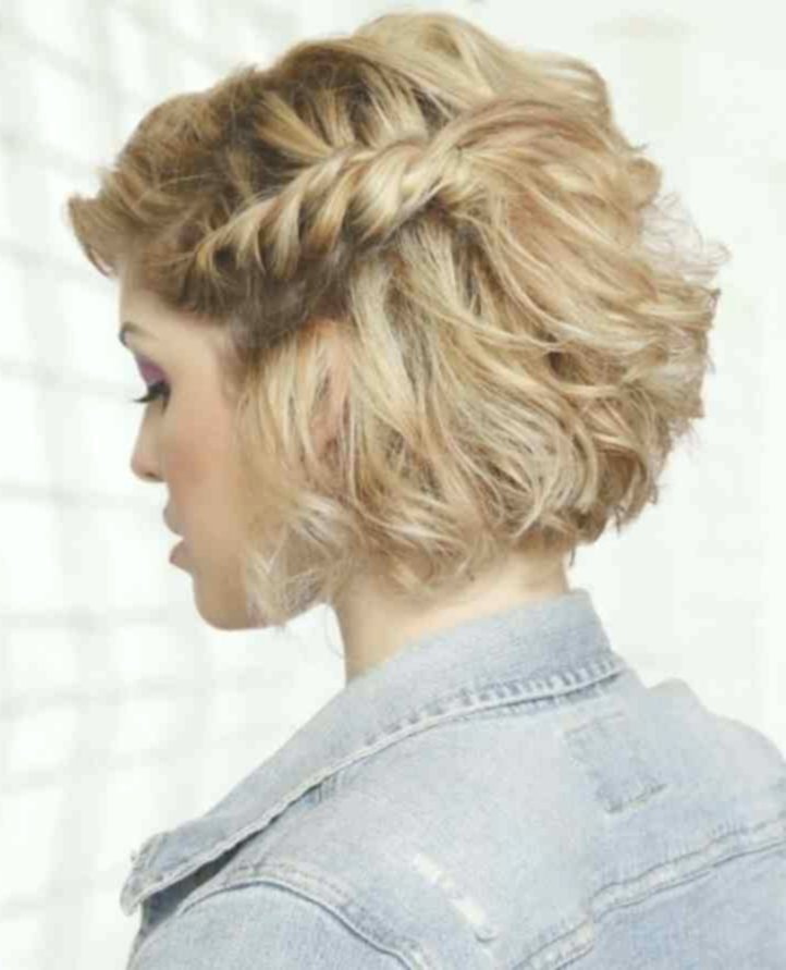 amazing awesome updo short hair instruction collection-modern updo short hair guide image