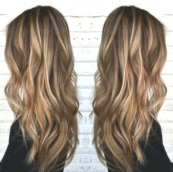 fancy brown hair with strands decoration - lovely brown hair with strands image
