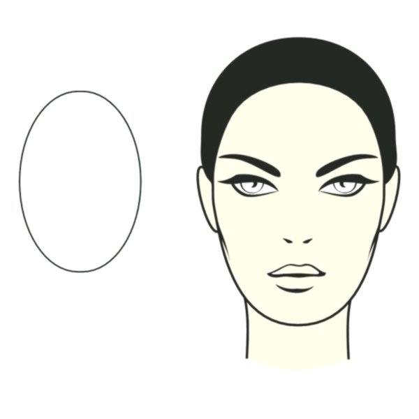 contemporary oval face hairstyle image-charming Oval face hairstyle portrait