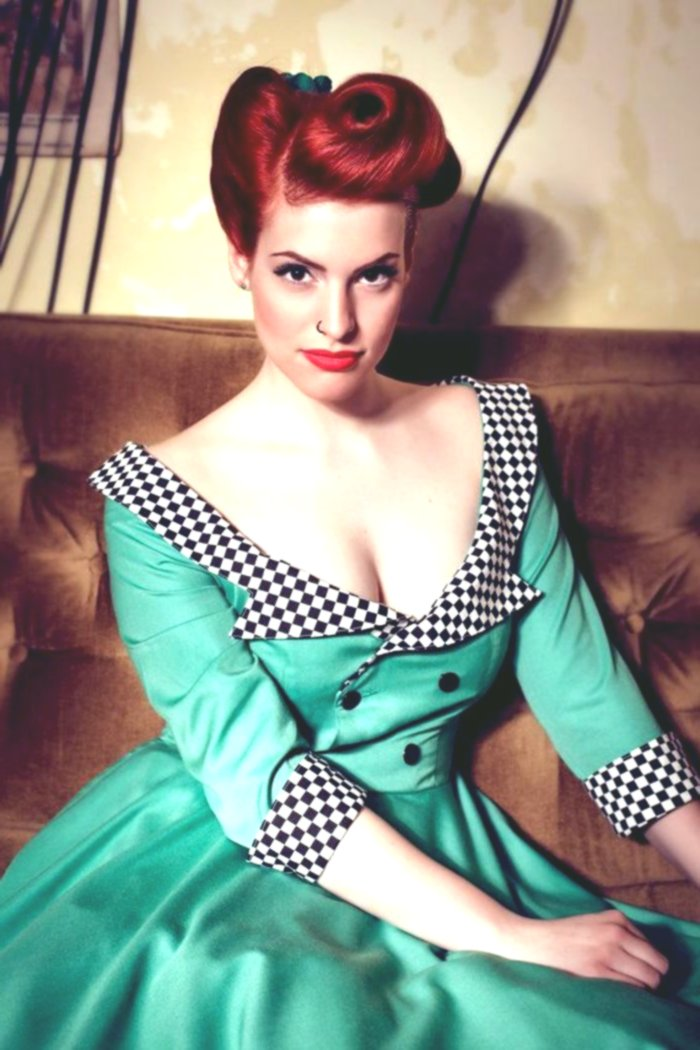 terribly cool hairstyles rockabilly ideas-fancy hairstyles rockabilly layout