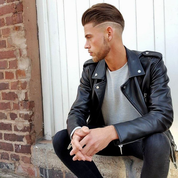 new men hairstyles little hair inspiration-Charming male hairstyles Little hair portrait