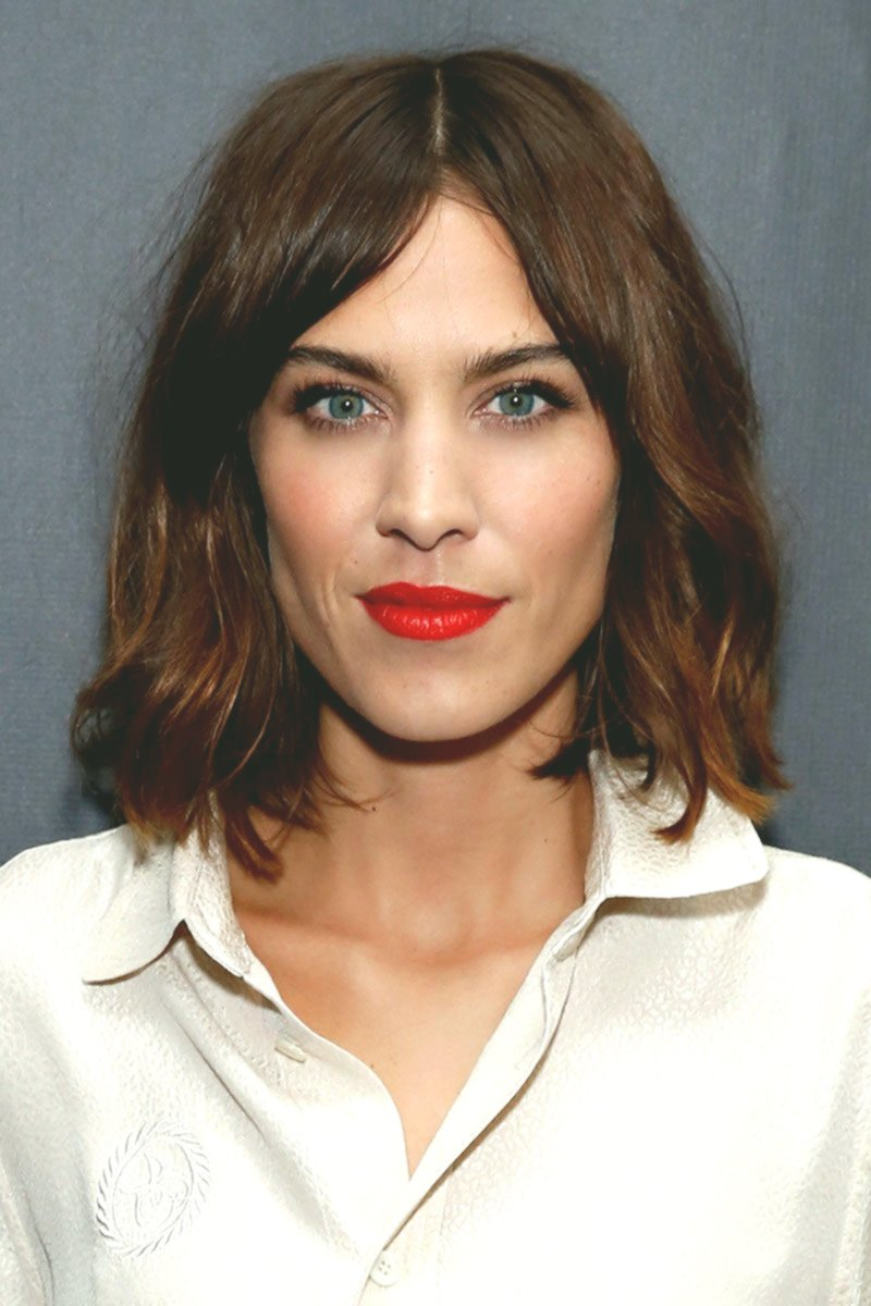 terribly cool half-length hairstyles women's inspiration-Elegant half-length hairstyles women pattern
