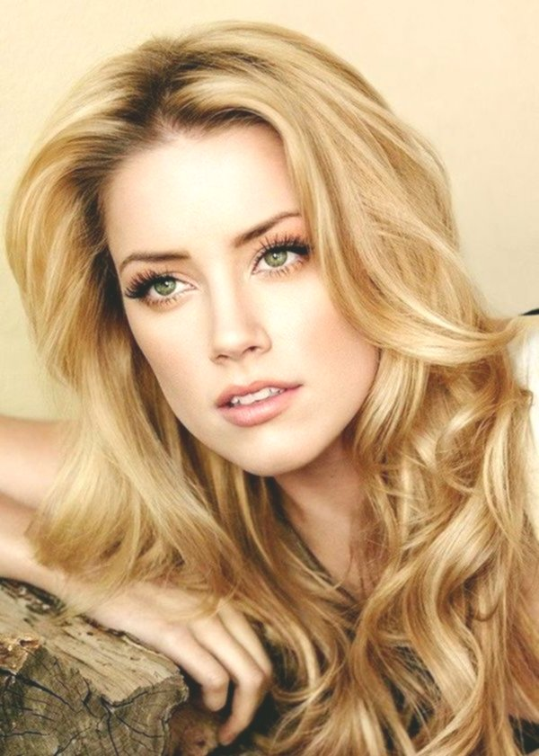 Excellent shoulder-length blonde hair concept-Charming shoulder-length blonde hair model