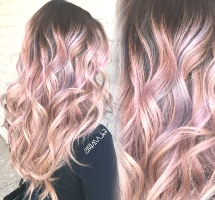 best pastel pink hair ombre model-Stylish pastel pink hair ombre photo