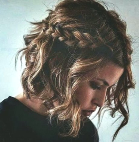 finest braided hairstyles for short hair gallery-fascinating braiding hairstyles for short hair wall