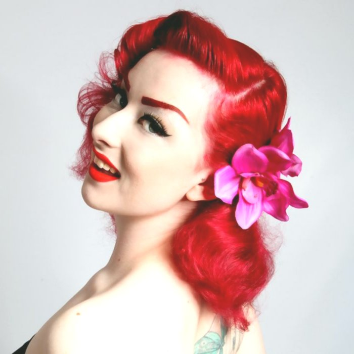 Newest 50's hairstyle short hair picture-Cute 50's Hairstyle Short Hair Ideas