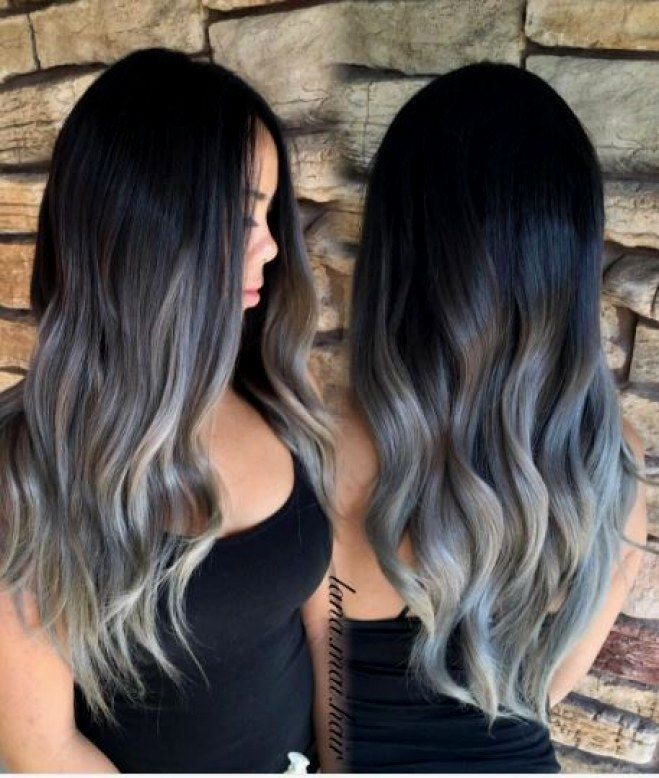 Best Black Gray Hair Ideas - Modern Black Gray Hair Pattern