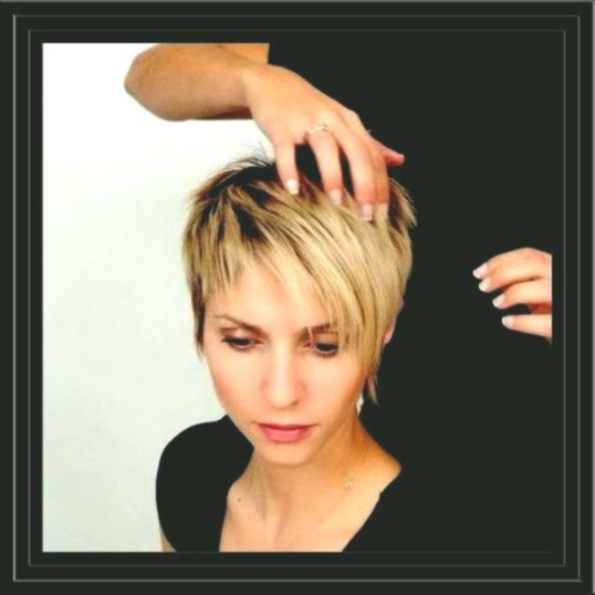 incredibly short haircut for women's model - Fascinating Short Haircut For Women Design