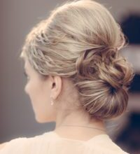 Photo of Modern Bridal Hairstyles Pinned Decoration