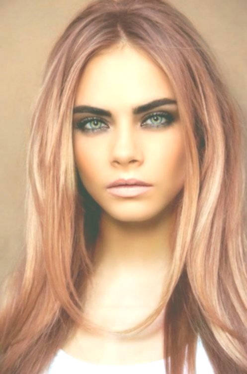 best of blond pink hair photo picture Modern Blond Pink Hair Model