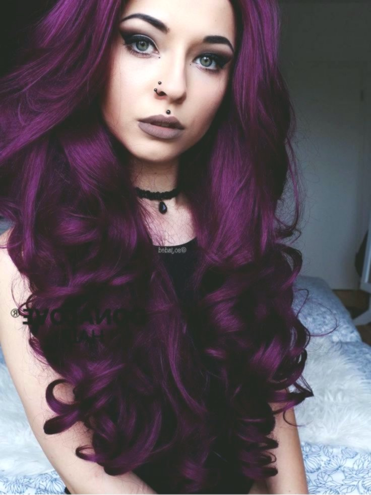 stylish gaudy hair-colored inspiration-New Gaudy hair colors design