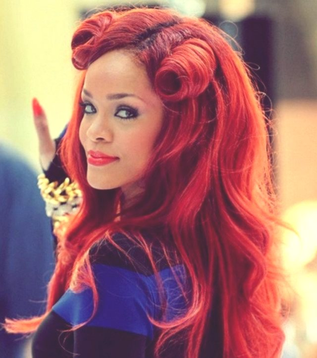 beautiful hairstyles red hair picture-Wonderful hairstyles Red hair collection