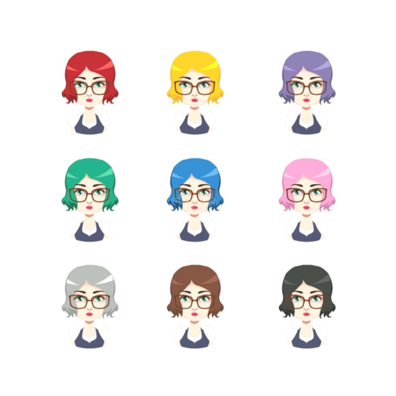 stylish different hair colors online Awesome Different Hair Colors Architecture