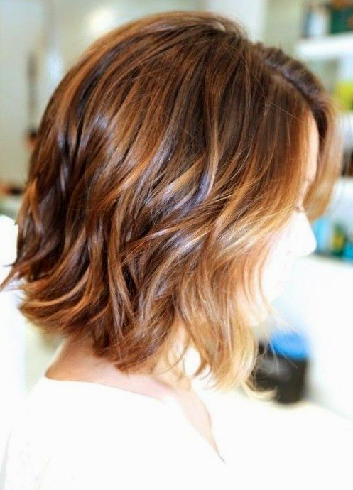 awesome cool stage cut medium length hair collection-Unique step cut mid-length hair collection