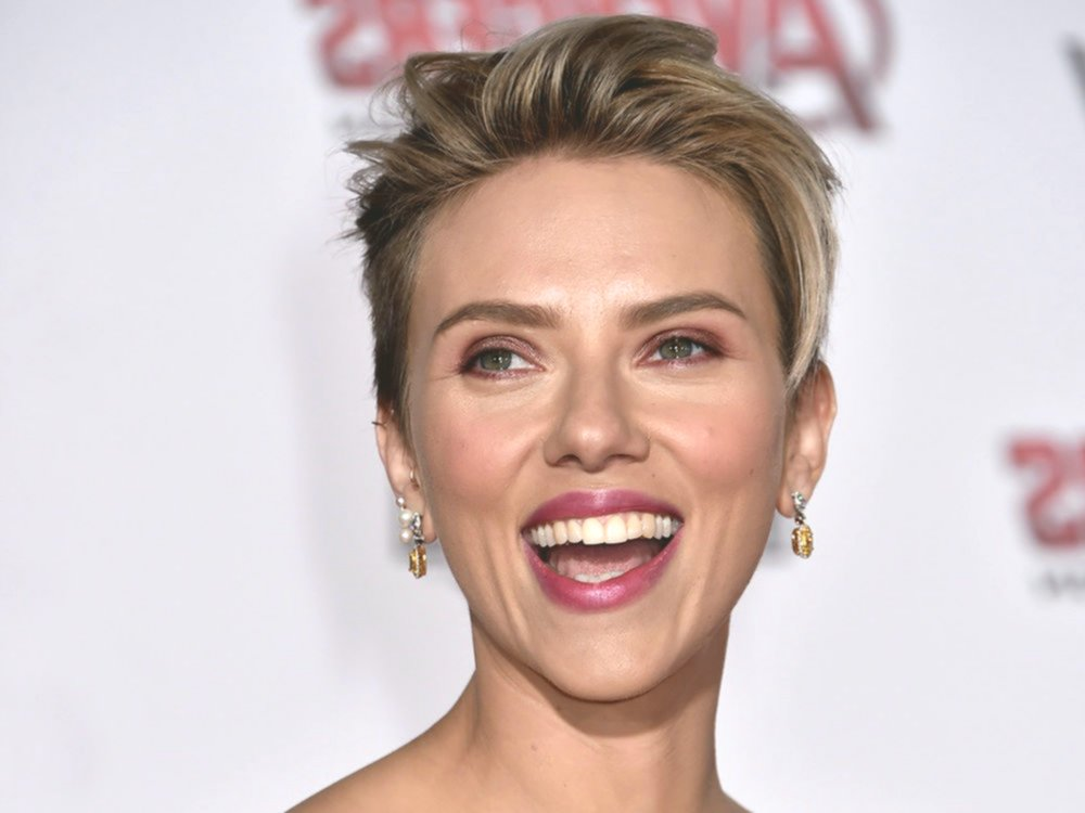 top scarlett johansson short hair photo-Unique Scarlett Johansson Short Hair Gallery
