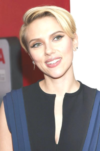 fresh scarlett johansson short hair photo-Unique Scarlett Johansson Short Hair Gallery