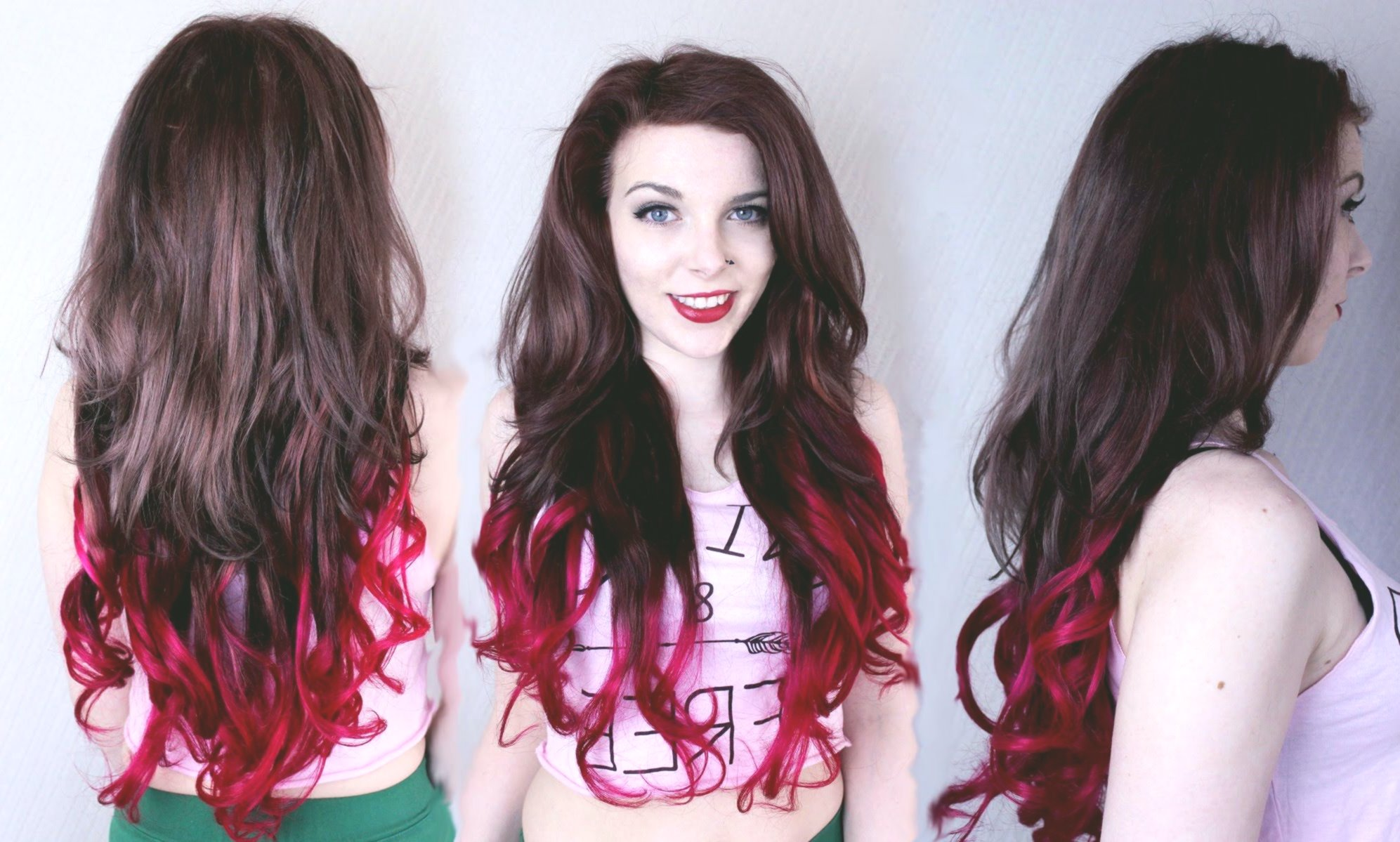 terribly cool hair-colored red tones ideas-unique hair colors reds decoration