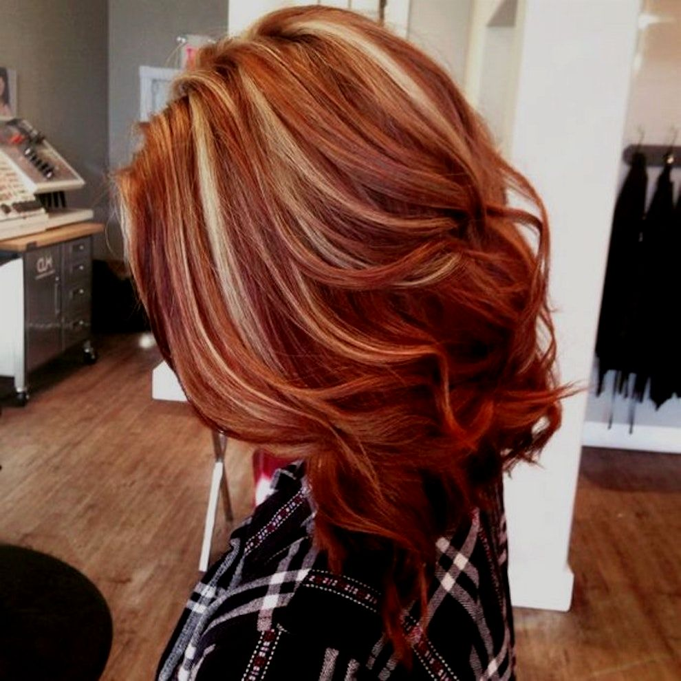 best of rotblond hair color picture-Excellent red-blonde hair color decoration