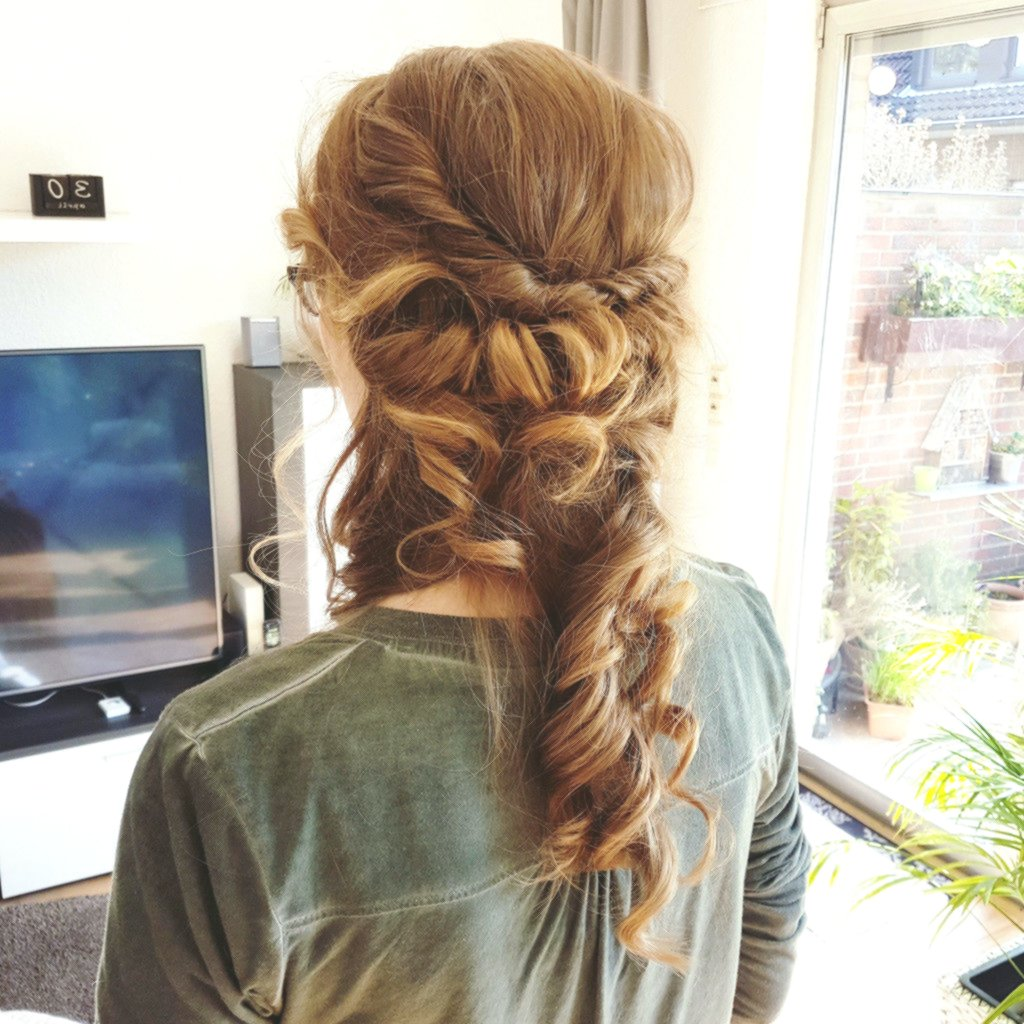 stylish half-open braided hairstyles photo-fascinating Semi-open braided hairstyles concepts
