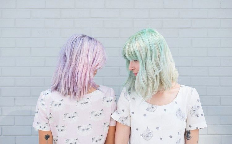 beautiful hair blue dyeing decoration-Beautiful hair blue dyeing collection
