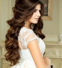 Photo of New bridal hair curls design