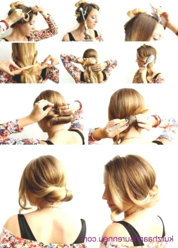 Stylish Simple Hairstyles For Shoulder-length Hair Decoration-Cute Simple Hairstyles For Shoulder-length Hair Design