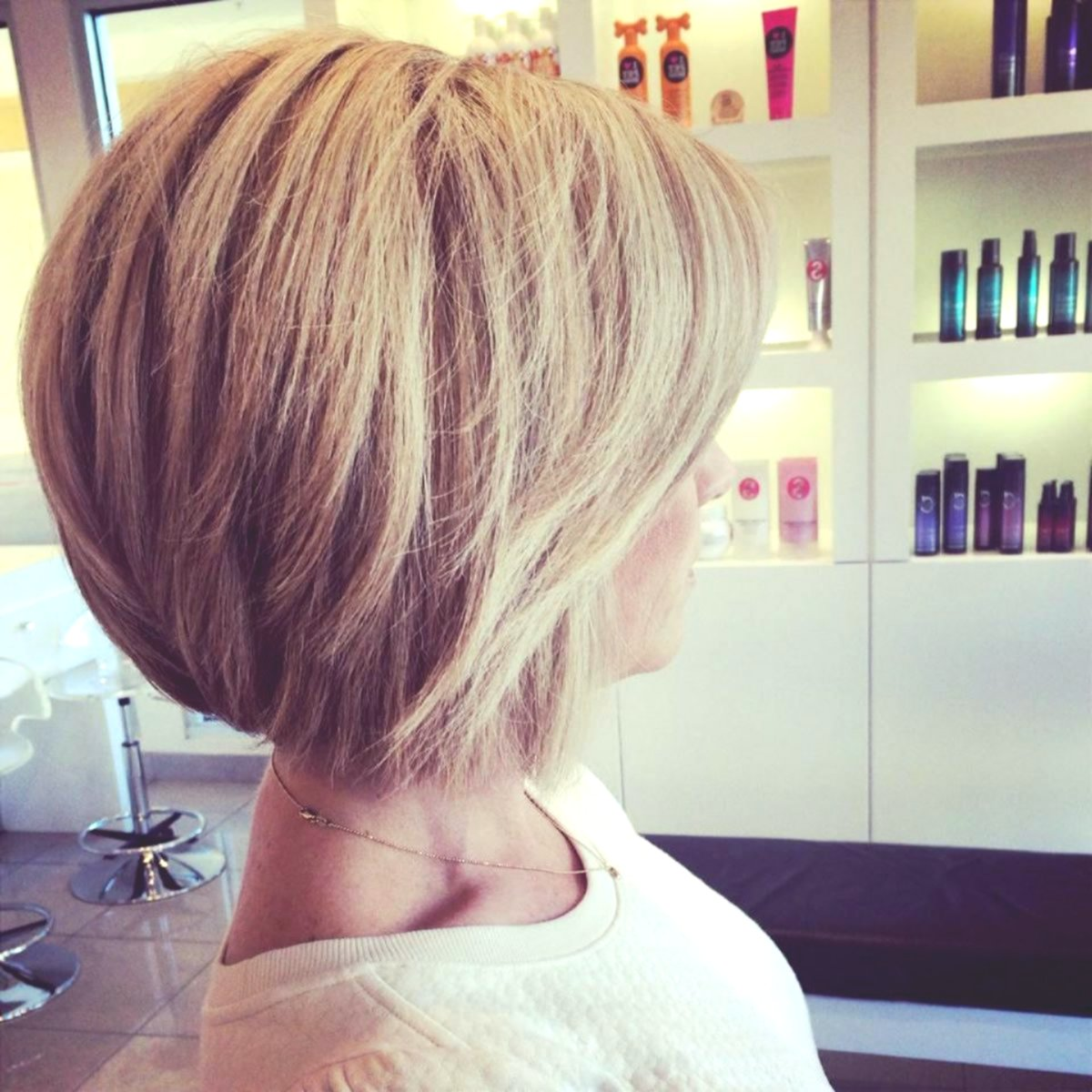 modern hairstyles blond medium-length collection-top hairstyles Blond Mittellang Image