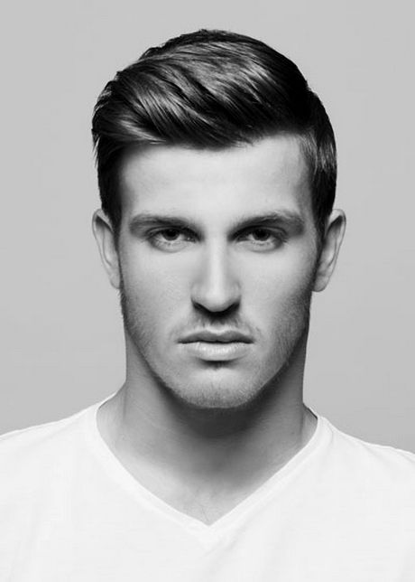 Men's hairstyles Little hair pattern-Charming Men's hairstyles Little hair portrait