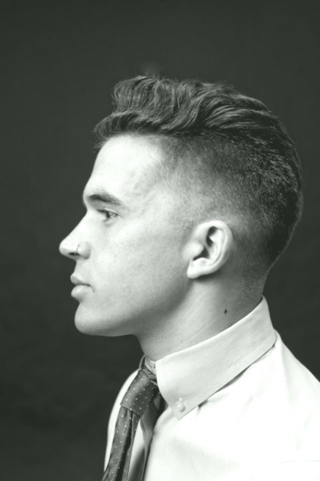 Best Men's Short Hairstyle Architecture-Inspiring Men's Hairstyle Short Photography