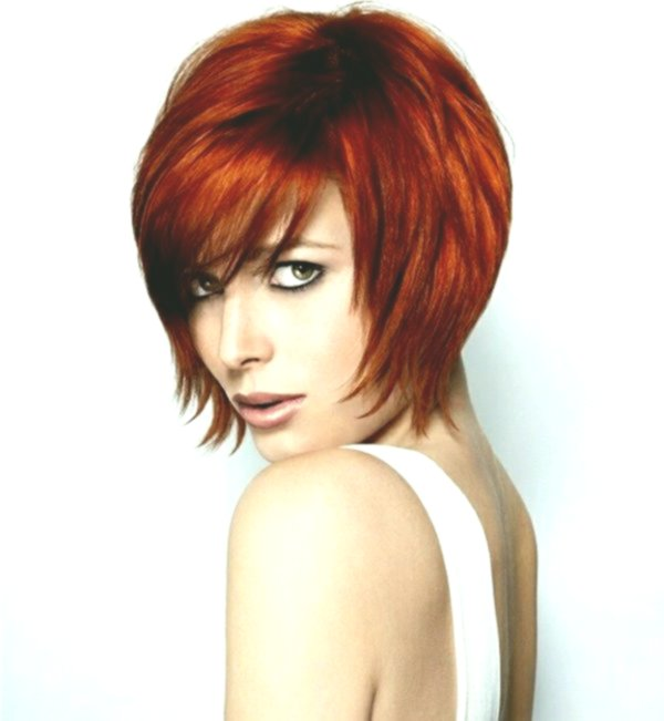 Stylish hairstyles step cut decoration-Amazing hairstyles step-cut photo