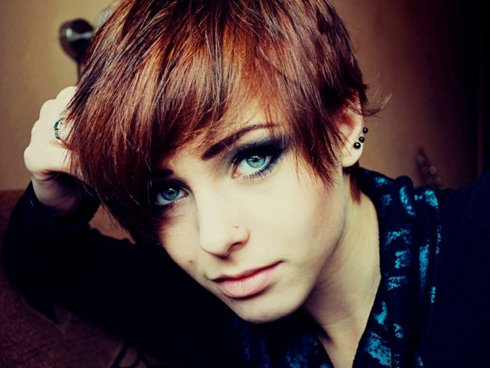 unique cool short hairstyles concept-top cool short hairstyles photography